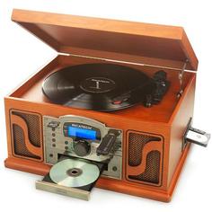Проигрыватель виниловых дисков Ricatech RMC250 Wood