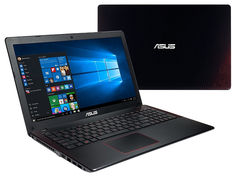 Ноутбук ASUS K550IK-DM043T 90NB0GXJ-M00470 (AMD FX-9830P 3.0 GHz/8192Mb/1000Gb/No ODD/AMD Radeon RX 560M 4096Mb/Wi-Fi/Bluetooth/Cam/15.6/1920x1080/Windows 10 64-bit)