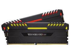 Модуль памяти Corsair Vengeance RGBDDR4 DIMM 3200MHz PC4-25600 CL16 - 32Gb KIT (2x16Gb) CMR32GX4M2D3200C16