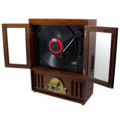 Проигрыватель виниловых дисков Soundmaster Tornado NR600 Wood