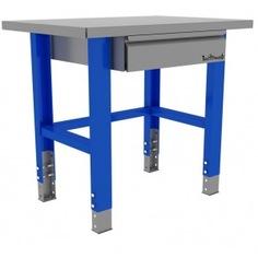 Промышленный металлический стол 1000 мм верстакофф proffi 115001