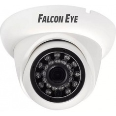 Уличная купольная гибридная видеокамера 1080p falcon eye fe-id1080mhd/20m