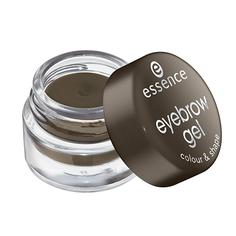Гель для бровей `ESSENCE` COLOUR & SHAPE тон 01 (натурально-коричневый)