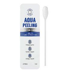 Ватная палочка для пилинга `A`PIEU` AQUA PEELING с АНА-кислотами 3 мл Apieu