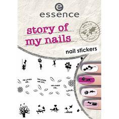 Наклейки для ногтей `ESSENCE` STORY OF MY NAILS NAIL STICKERS тон 06
