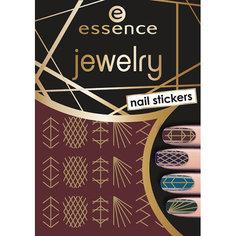 Наклейки для ногтей `ESSENCE` JEWELRY NAIL STICKERS тон 09