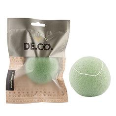 Спонж из конняку `DE.CO.` зеленый Deco