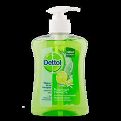 Мыло жидкое `DETTOL` антибактериальное Бодрящая свежесть с экстрактом грейпфрута  250 мл