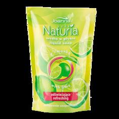 """Мыло жидкое `JOANNA` NATURIA  BODY """"Лимон"""" (смен блок) 300 мл"""