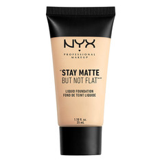 Основа тональная для лица `NYX PROFESSIONAL MAKEUP` STAY MATTE BUT NOT FLAT тон 01 Ivory матирующая
