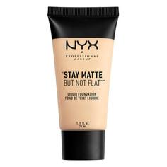 Основа тональная для лица `NYX PROFESSIONAL MAKEUP` STAY MATTE BUT NOT FLAT тон 01 Ivory матирующая