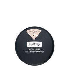 Пудра компактная для лица `ISADORA` ANTI SHINE тон 32 матирующая