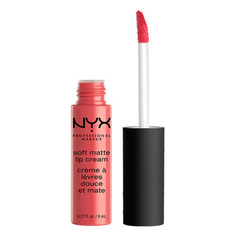 Помада для губ `NYX PROFESSIONAL MAKEUP` SOFT MATTE LIP CREAM тон 05 Antwerp матовая жидкая