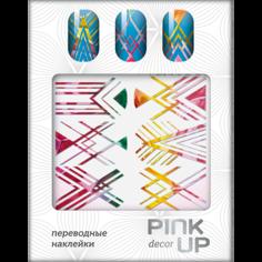 Наклейки для ногтей переводные `PINK UP` NAIL DESIGN тон 506