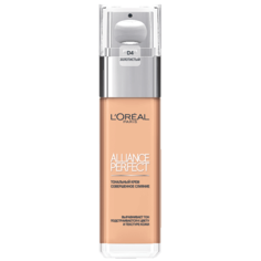 Крем тональный для лица `LOREAL` ALLIANCE PERFECT тон D4 (golden natural) LOreal