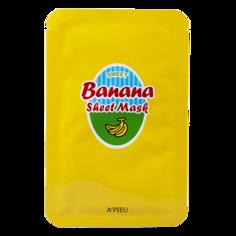 Маска для лица `A`PIEU` с экстрактом банана и меда 23 г Apieu