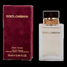 Парфюмерная  вода `DOLCE & GABBANA` POUR FEMME (жен.) 25 мл