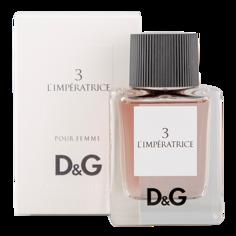 Туалетная вода `DOLCE & GABBANA` `D & G` 3 L` IMPERATRICE (жен.) 50 мл