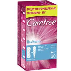 Прокладки ежедневные `CAREFREE` FlexiForm воздухопроницаемые 30 шт