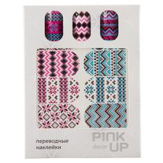 Наклейки для ногтей переводные `PINK UP` NAIL DESIGN тон 550