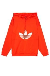 Оранжевое худи CLRDO Adidas