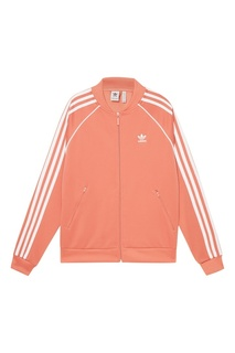 Розовая олимпийка на молнии SST Adidas