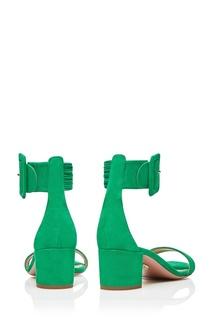 Зеленые босоножки Casablanca Sandal 50 Aquazzura