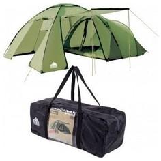 Палатка Trek Montana 5 арт. 70242 пятиместная с тамбуром цвет зеленый