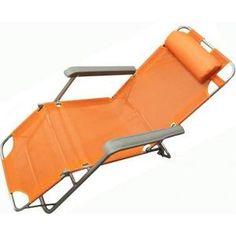 Кресло-шезлонг Woodland Lounger Textilene оранж. СК-056А 0036509