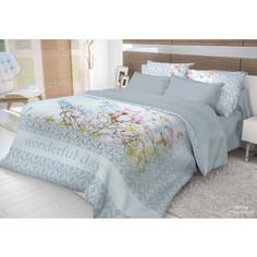 Комплект постельного белья Волшебная ночь 1,5 сп, ранфорс, Morning с наволочками 70x70 (704308)