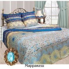 Комплект постельного белья Сова и Жаворонок 1,5 сп, бязь, Марракеш, n70