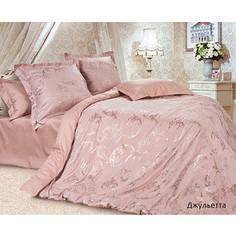 Комплект постельного белья Ecotex Семейный, сатин-жаккард, Джульетта (КЭДДжульетта)