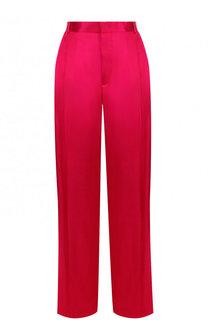 Однотонные брюки из вискозы со стрелками Givenchy