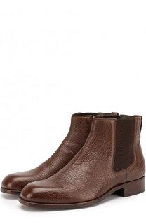 Классические кожаные челси Tom Ford