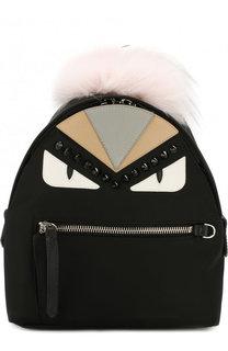 Рюкзак из текстиля с аппликациями Bag Bugs Fendi