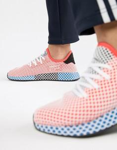 Красные кроссовки adidas Originals Deerupt Runner CQ2624 - Красный