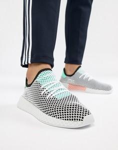 Черные кроссовки adidas Originals Deerupt Runner B28076 - Черный