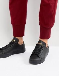 Черные кроссовки adidas Originals Court Vantage CQ2562 - Черный