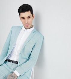 Твидовый пиджак скинни Heart & Dagger Wedding - Зеленый