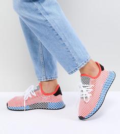 Кроссовки (красный/синий) adidas Originals Deerupt Runner - Красный