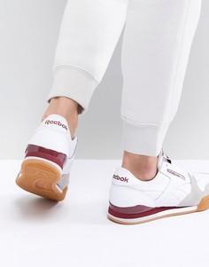 Бело-красные кроссовки Reebok Classic Phase 1 Pro - Белый