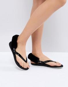 Черные сандалии UGG LaaLaa - Черный