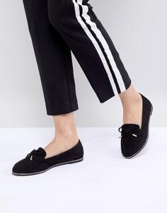 Туфли на плоской подошве ASOS DESIGN Mossy - Черный