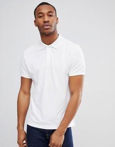 Белая футболка-поло Tom Tailor - Белый