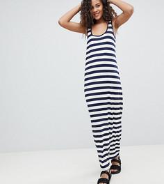 Платье-майка макси в полоску ASOS DESIGN Tall - Мульти
