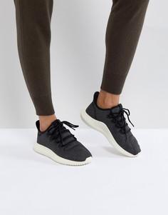 Женские черные кроссовки adidas Originals Tubular Shadow - Черный