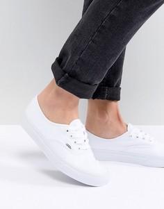 Белые кроссовки Vans Authentic - Белый