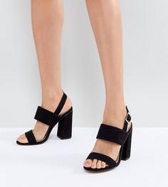 Босоножки на каблуке ASOS HUSTLE - Черный
