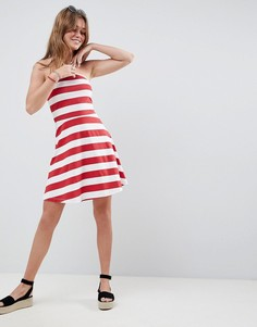 Летнее платье в яркую полоску ASOS DESIGN - Мульти