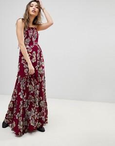 Платье макси Free People Garden Party - Розовый